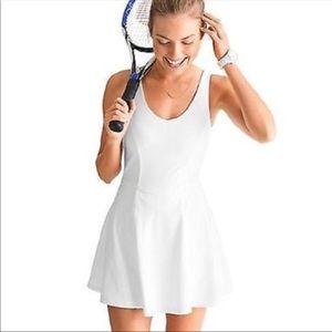 Athleta White Tennis Dress Size Medium